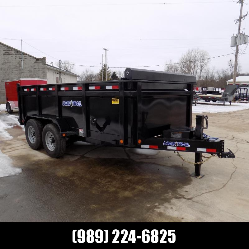 "New Load Trail 83"" x 14' Dump Trailer w/ 36"" Sides - $0 Down & $129/mo. W.A.C."
