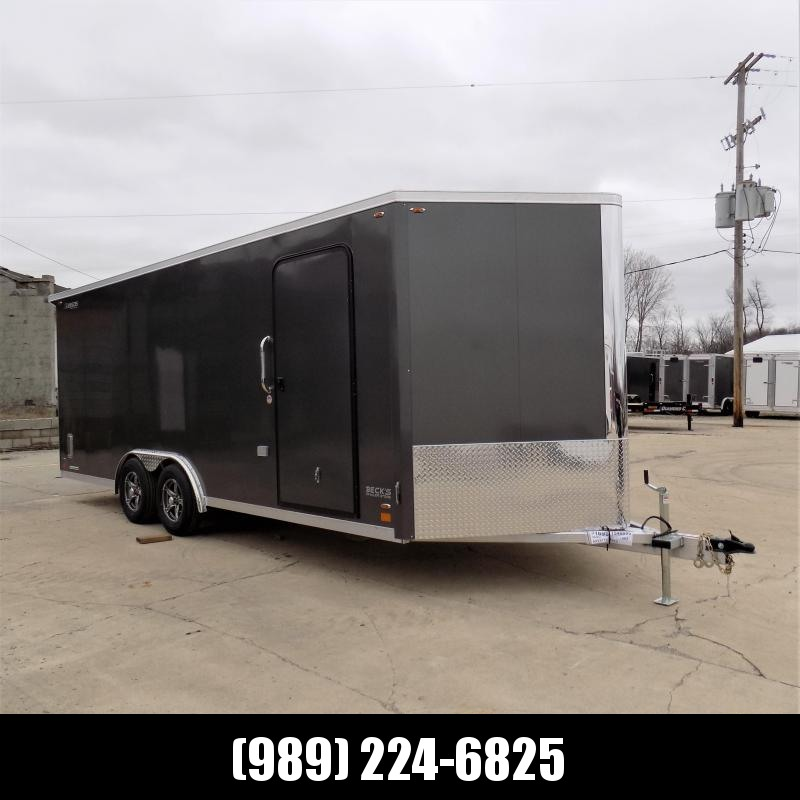 New Legend FTV 8' x 23' Aluminum Cargo Trailer - Extra Height - $0 Down & Payments From $145/mo. W.A.C.