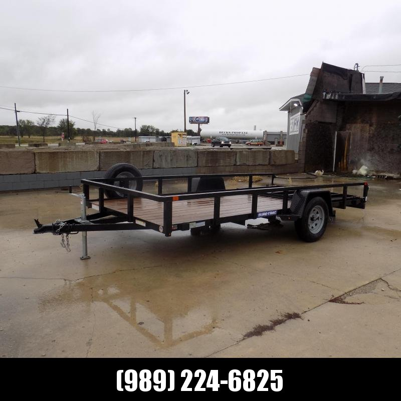 Used Sure-Trac Utility Trailer 7' x 14' For Sale - $0 Down With Flexible Financing Available