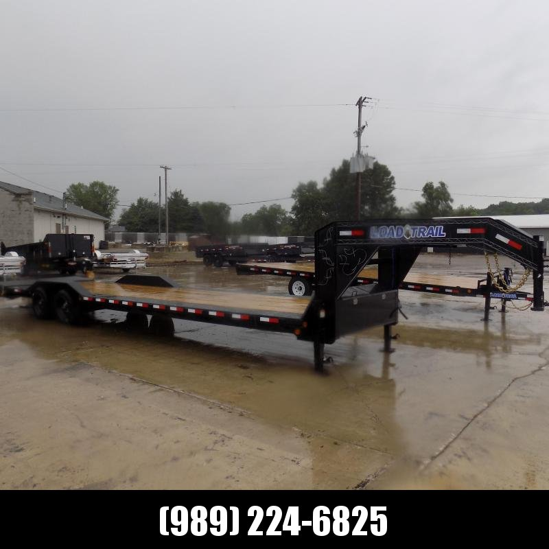 """New Load Trail 102"""" x 30' Gooseneck Equipment Trailer  - Drive Over Fenders - Flexible $0 Down Financing Available"""