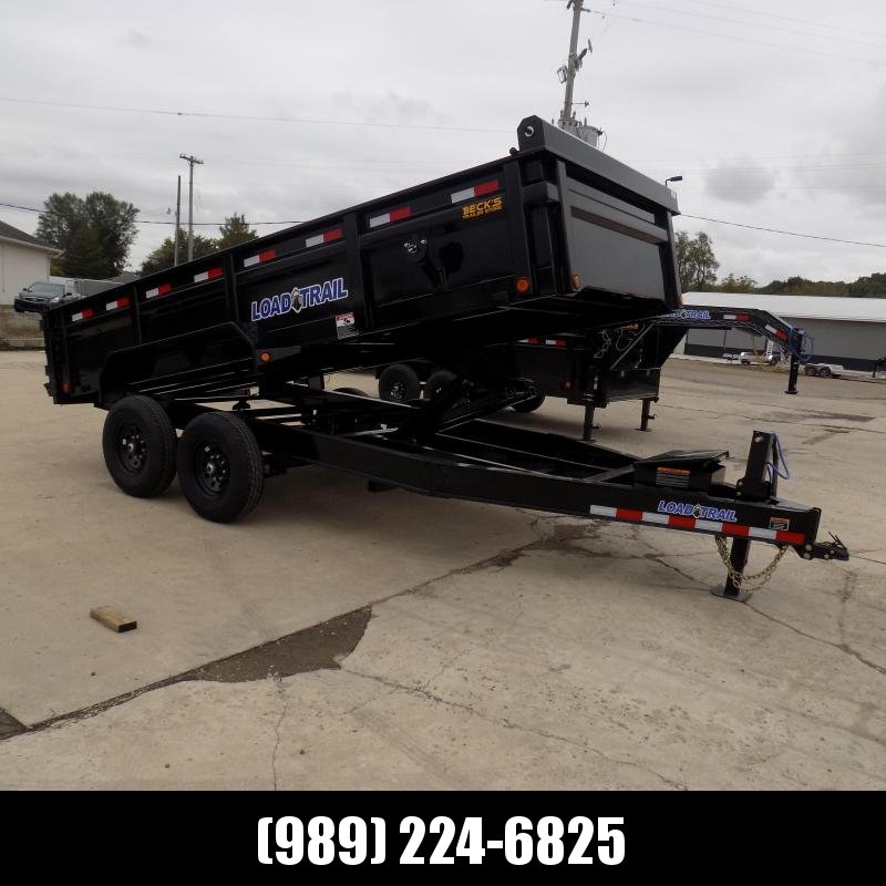 """New Load Trail 83"""" x 16' Dump Trailer for Sale - $0 Down & Flexible Financing Available"""
