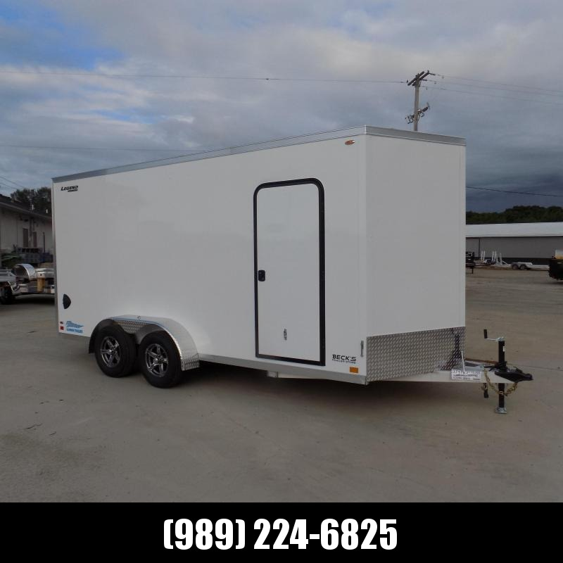 New Legend Thunder 7' x 18' Aluminum Enclosed Cargo Trailer for Sale- $0 Down Payments From $131/Mo W.A.C.