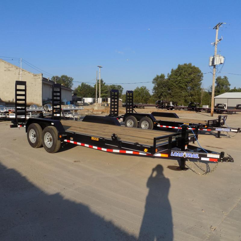 """New Load Trailer 83"""" x 20' Open Car Hauler/Equipment Trailer For Sale With 7K Axles- $0 Down & Payments from $117/mo. W.A.C."""