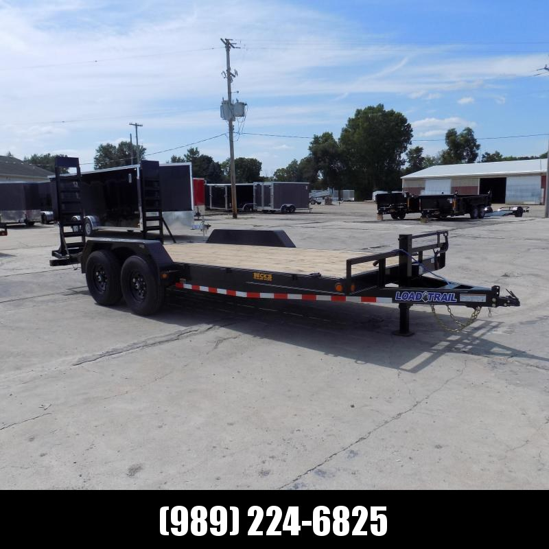"""New Load Trailer 83"""" x 18' Car Hauler Trailer For Sale With 7K Axles- $0 Down & Payments from $115/mo. W.A.C."""