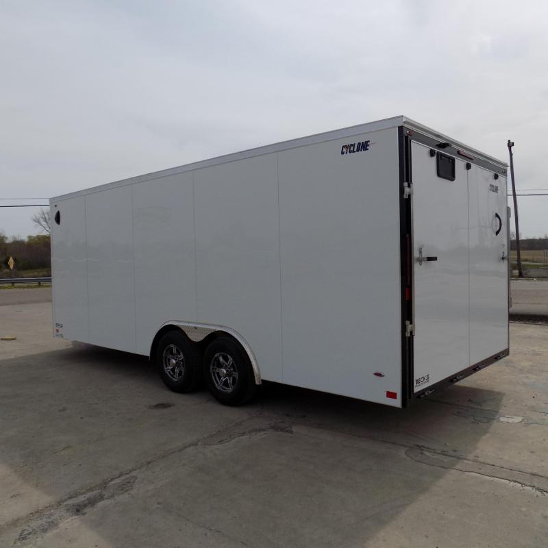 New Legend Trailers Legend Cyclone 8.5' x 22' Enclosed Car Hauler / Cargo Trailer for Sale - $0 Down Payments From $141/mo W.A.C.