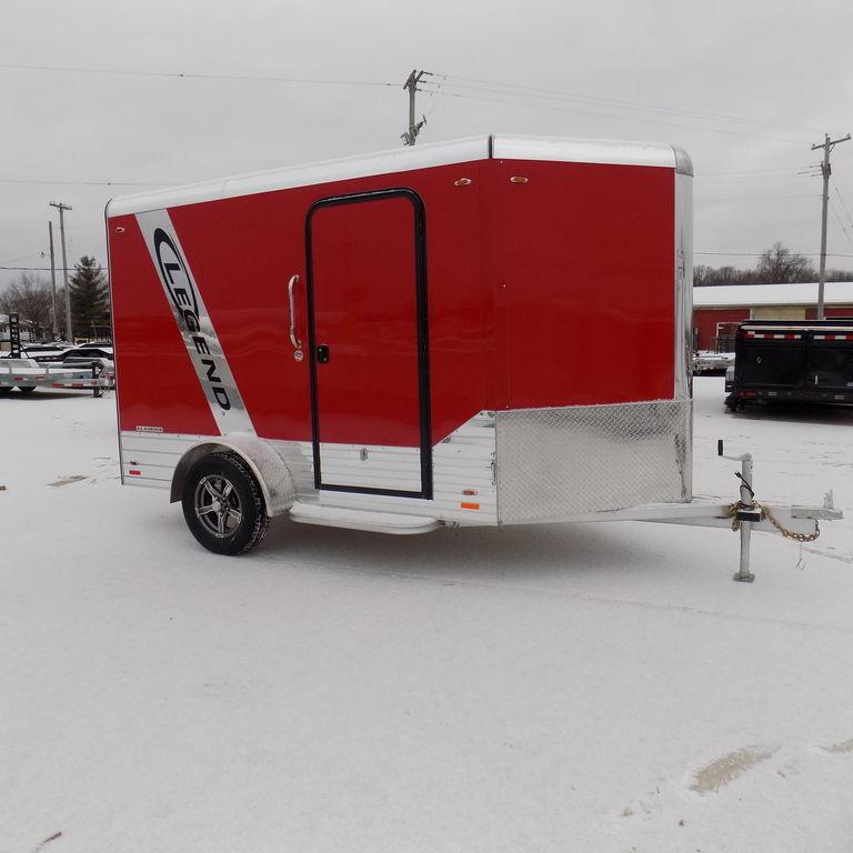 New Legend DVN 6' X 13' Aluminum Enclosed Cargo Trailer For Sale