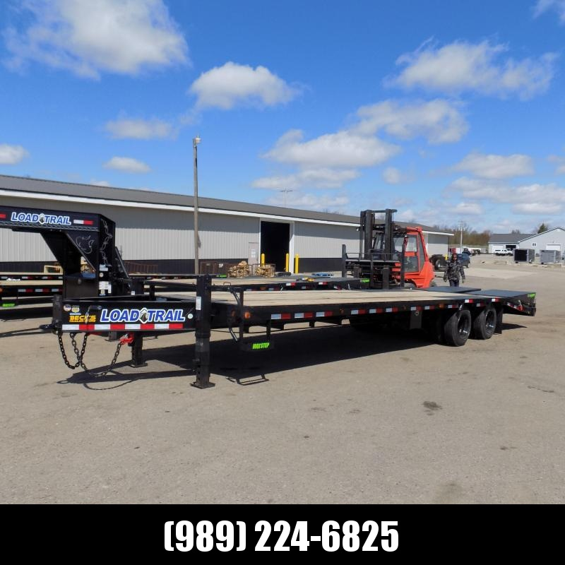 """New Load Trail 102"""" x 30' Pintle Hitch Equipment Trailer With 12K Axles - Flexible $0 Down Financing Available"""