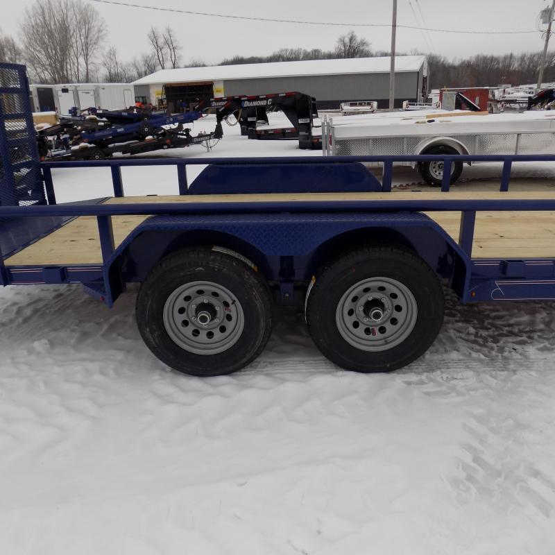 New Diamond C Trailers 7' x 18' Heavy Duty Utility Trailers - 5200# Axles - $0 Down & Payments From $119/mo. W.A.C.