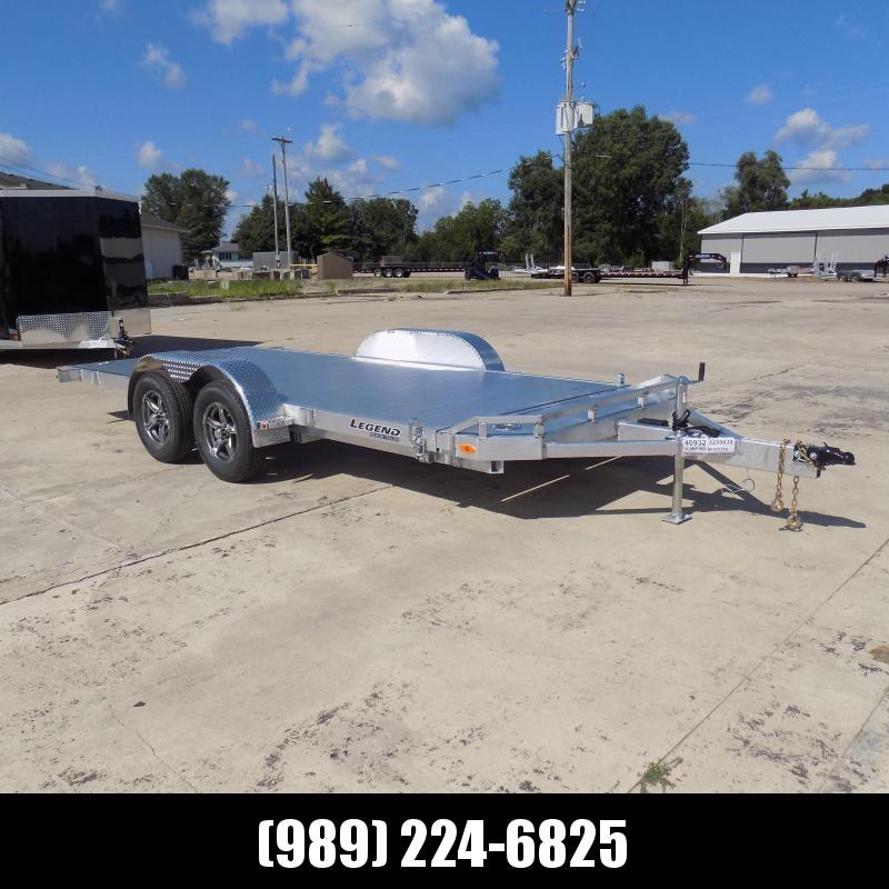 New Legend 7' x 18' Aluminum Tilt Deck Car Hauler - $0 Down & Payments From $129/mo. W.A.C.