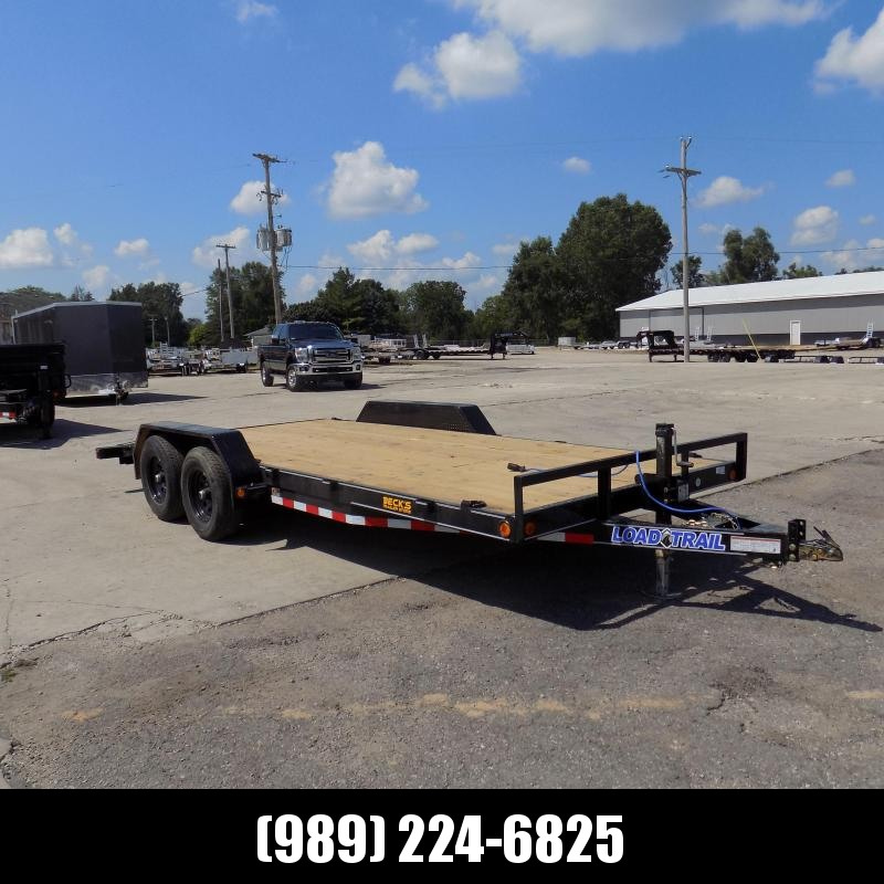 """New Load Trailer 83"""" x 18' Open Car Hauler/Equipment Trailer - $0 Down & Payments from $135/mo. W.A.C."""