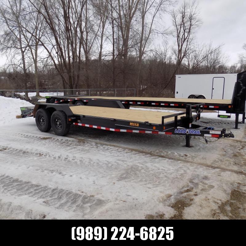 """New Load Trailer 83"""" x 20' Car Hauler Trailer For Sale With 7K Axles- $0 Down & Payments from $133/mo. W.A.C."""