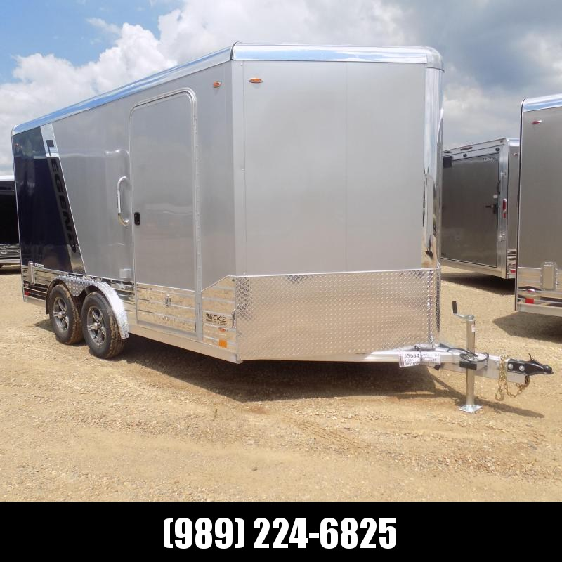 New Legend Deluxe V Nose 8' X 17' All Aluminum Cargo Trailer - $0 Down & Payments from $189/mo. W.A.C.