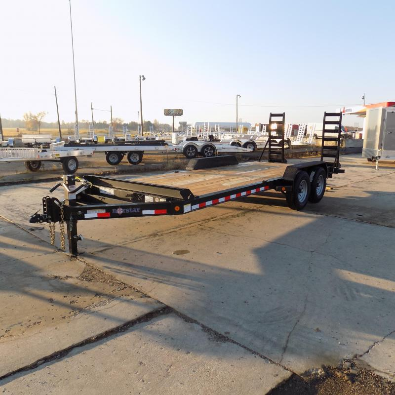 "New Norstar 83"" x 20' Equipment Trailer - $0 Down & Payments From $122/mo. W.A.C. - Best Deal Guarantee"