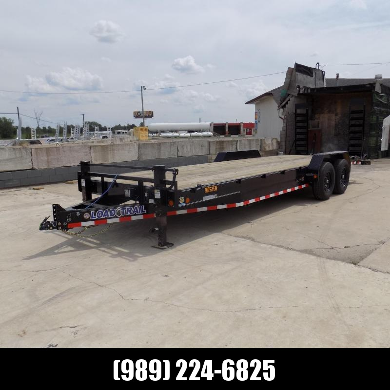 """New Load Trail 83"""" x 24' Equipment Trailer For Sale - $0 Down & Payments From $129/mo. W.A.C."""