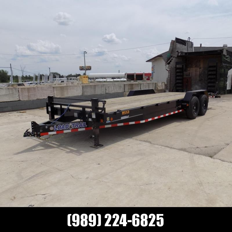 "New Load Trail 83"" x 24' Equipment Trailer For Sale - $0 Down & Payments From $129/mo. W.A.C."