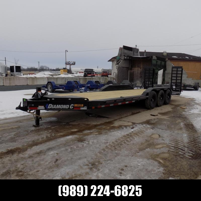 "New Diamond C Trailers 102"" x 24' Heavy Duty Equipment Trailer With Drive-Over Fenders - Over 20K Payload Capacity - $0 Down & Payments from $139/mo. W.A.C."