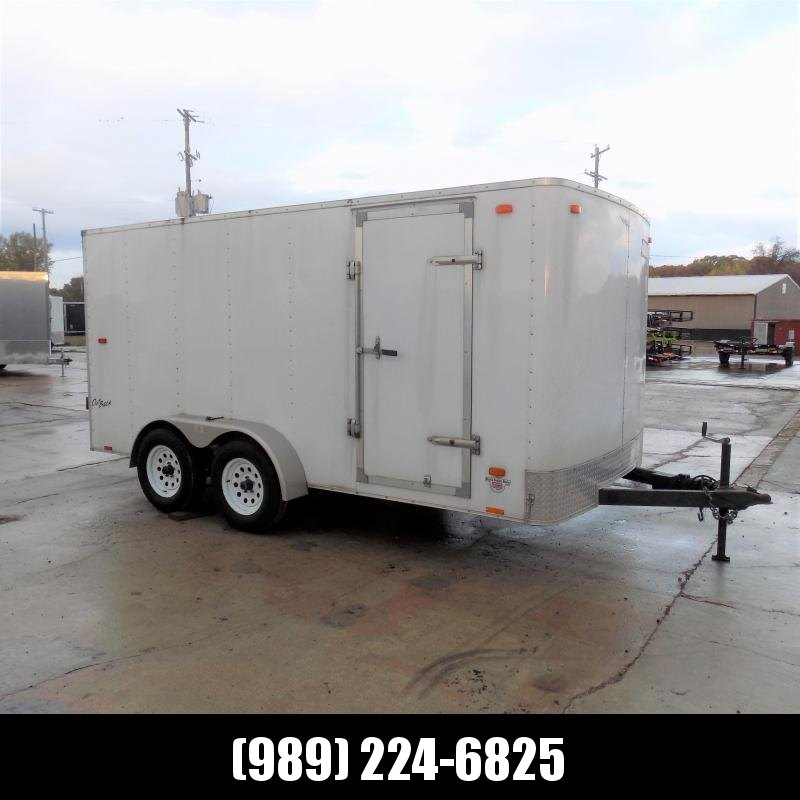 Used Pace 7' x 14' Enclosed Cargo Trailer For Sale - New Trade
