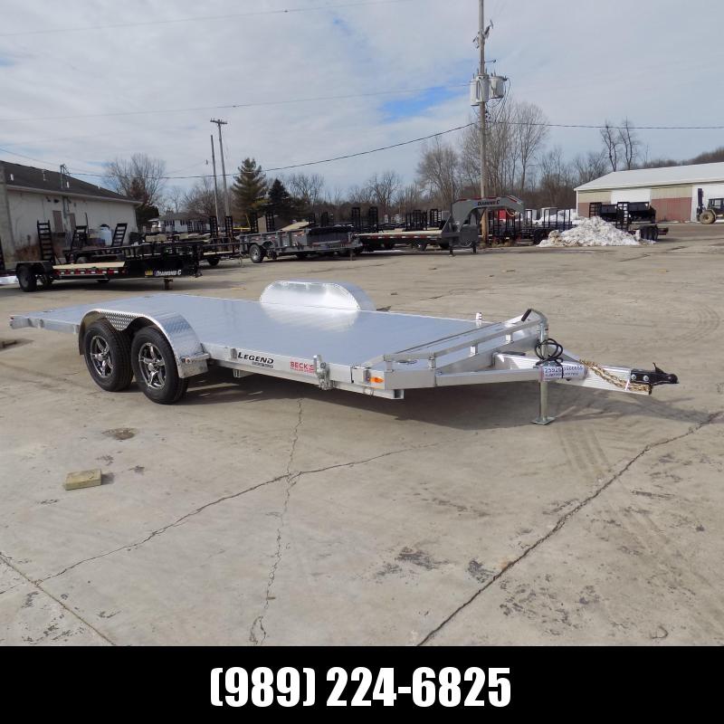 New Legend 7' x 20' Aluminum Tilt Deck Car Hauler - $0 Down & Payments From $133/mo. W.A.C.