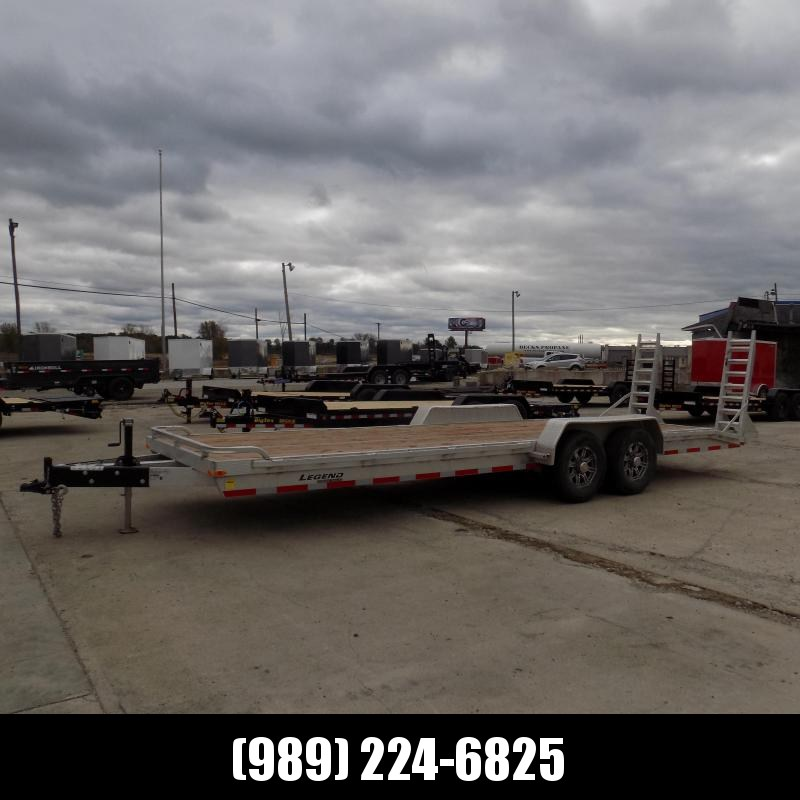 ***DEMO*** Legend 7' x 24' Aluminum Equipment Trailer With 7000# Torsion Axles - $0 Down & Flexible Financing Available