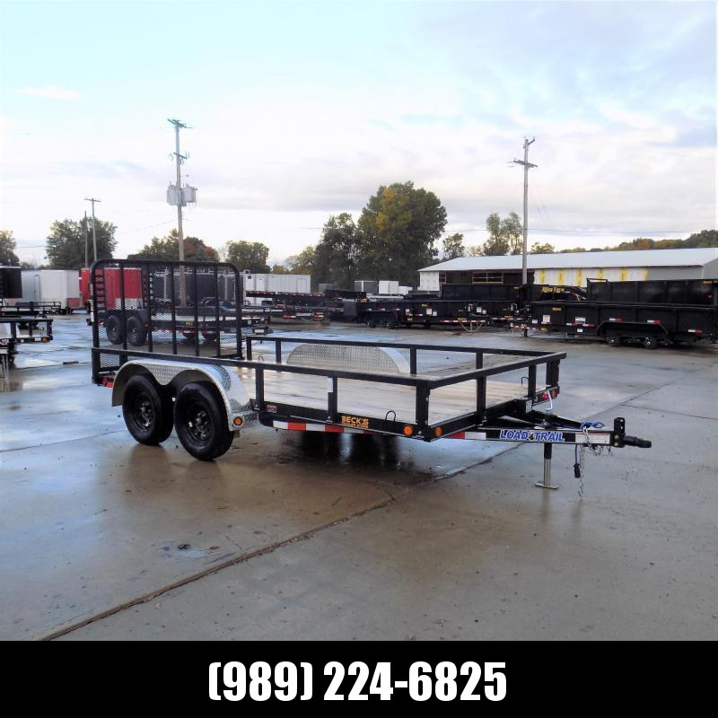 "New Load Trail 83"" x 14' Utility Trailer For Sale - $0 Down & Payments From $89/mo W.A.C."