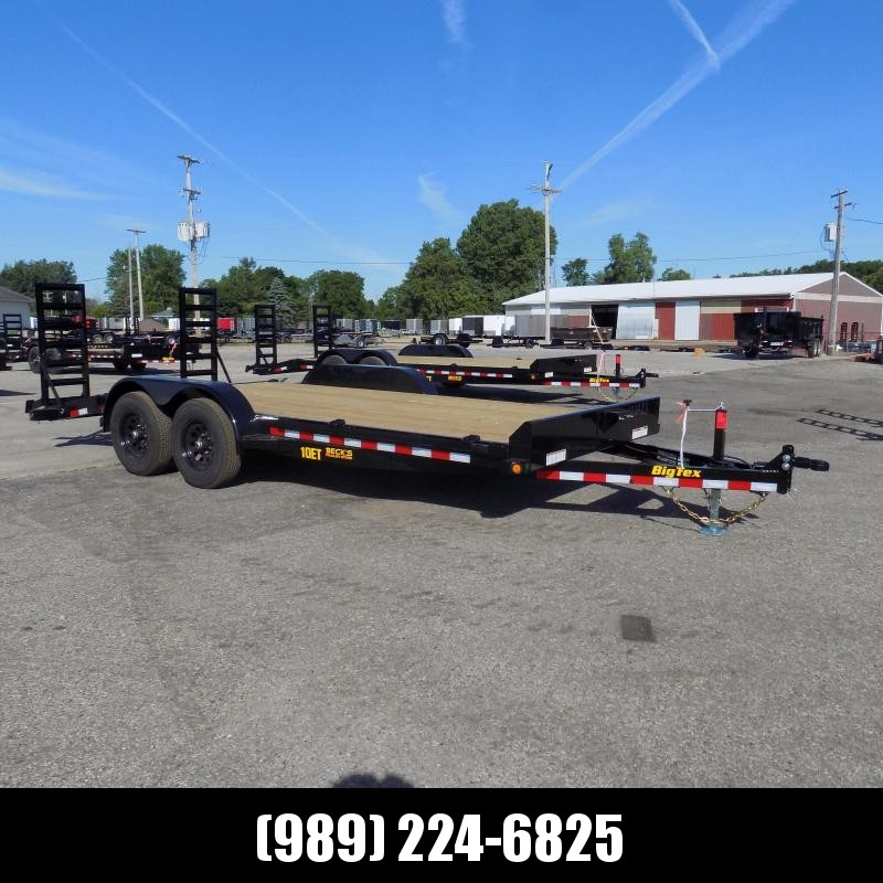 """New Big Tex 83"""" x 18' Equipment Trailer For Sale - $0 Down & Payments From $105/mo. W.A.C."""