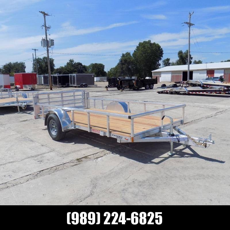 New Legend Open Deluxe 6' x 12' Aluminum Utility - $0 Down & Payments From $69/mo. W.A.C.