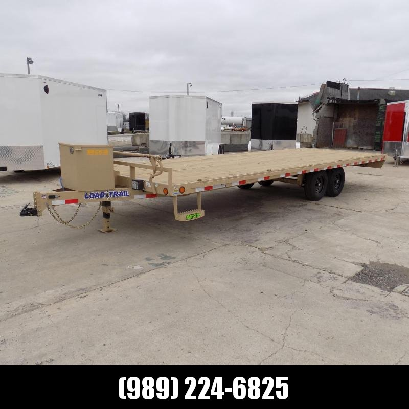 "New Load Trail 102"" x 24' Deckover Trailer for Sale - $0 Down & Payments from $109/mo. W.A.C."