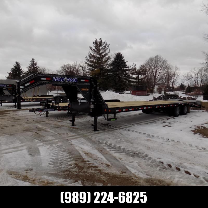 "New Load Trail 102"" x 34' Low Profile Gooseneck Equipment Trailer - $o Down & $189/mo. W.A.C."