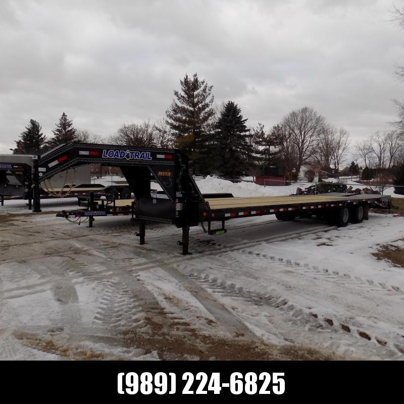 "New Load Trail 102"" x 34' Low Profile Gooseneck Equipment Trailer - $o Down & $189/mo. W.A.C."