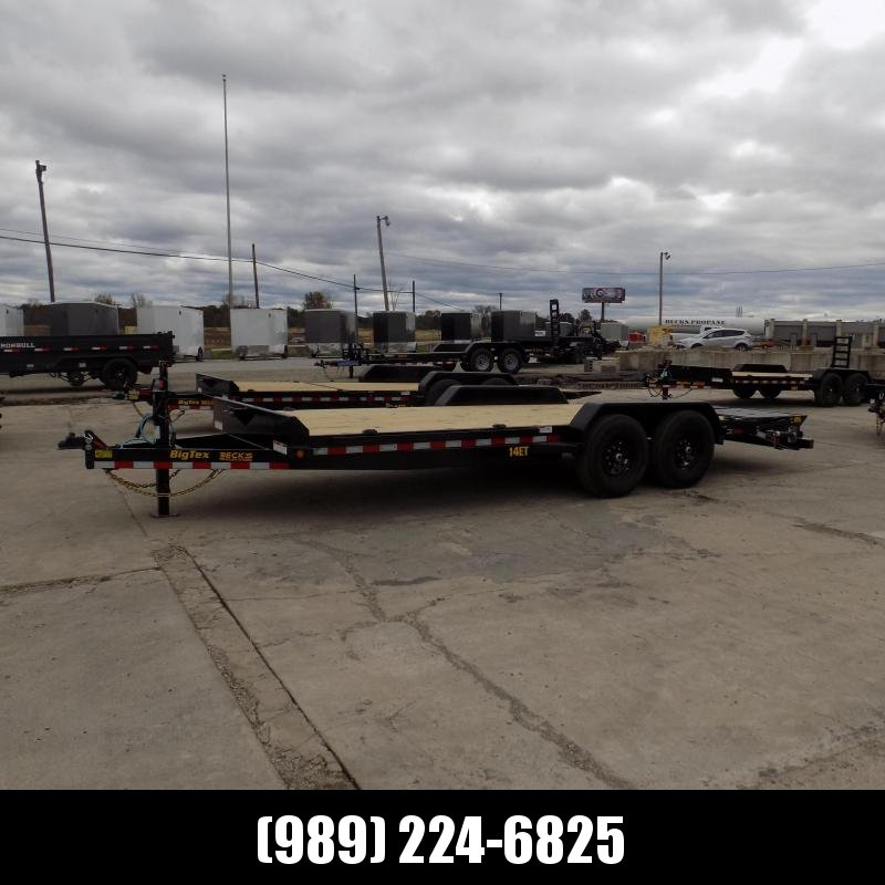 """New Big Tex 83"""" x 20' Equipment Trailer For Sale - $0 Down & Payments From $141/mo. W.A.C."""