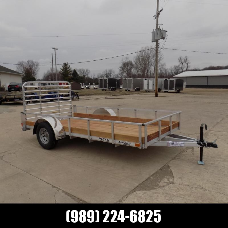 New Legend 6' x 12' Aluminum Utility Trailer For Sale - $0 Down & Payments From $65/mo. W.A.C.