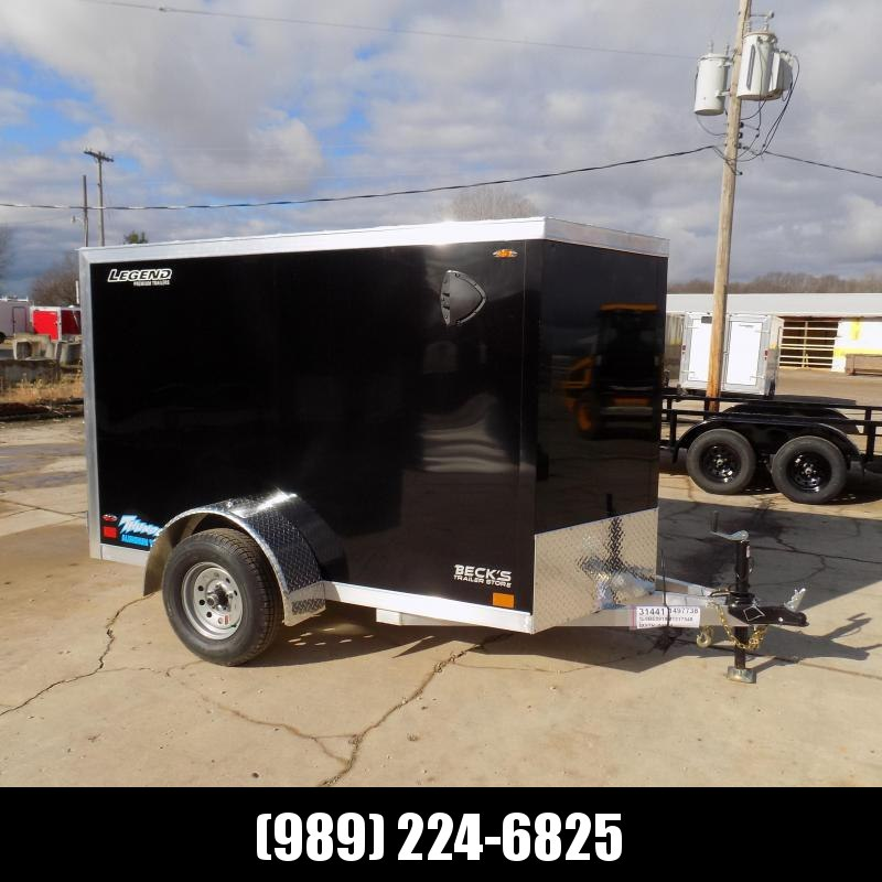 New Legend Thunder 5' x 9' Aluminum Enclosed Cargo Trailer for Sale- $0 Down Payments From $79/Mo W.A.C.
