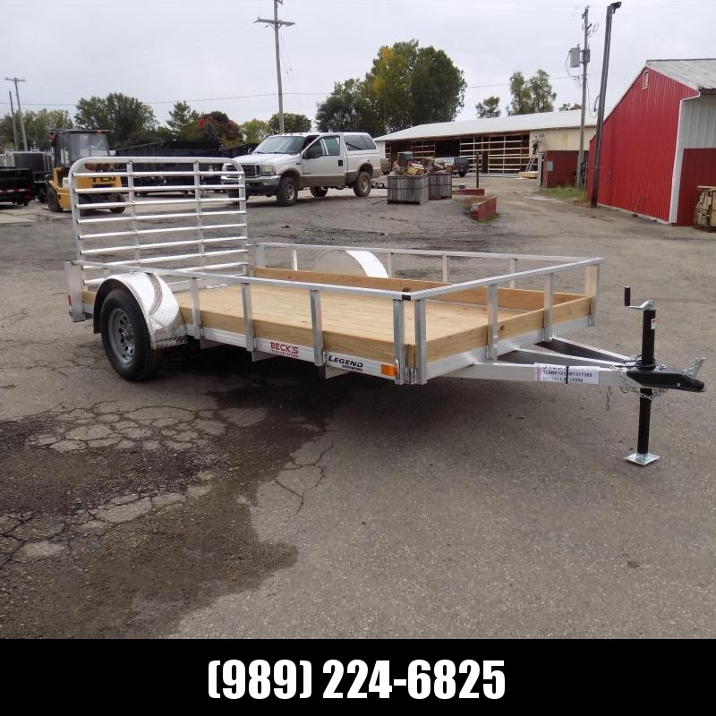New Legend 6' x 12' Aluminum Utility Trailer For Sale - $0 Down & Payments From $59/mo. W.A.C.