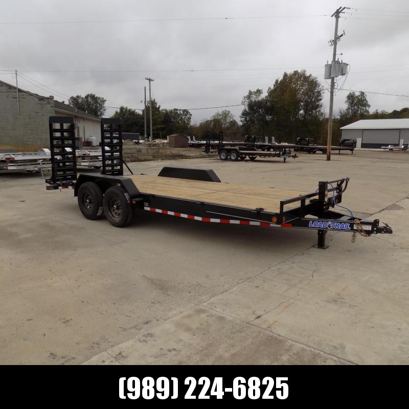 """New Load Trailer 83"""" x 20' Open Car Hauler/Equipment Trailer For Sale With 7K Axles- $0 Down & Payments from $131/mo. W.A.C."""