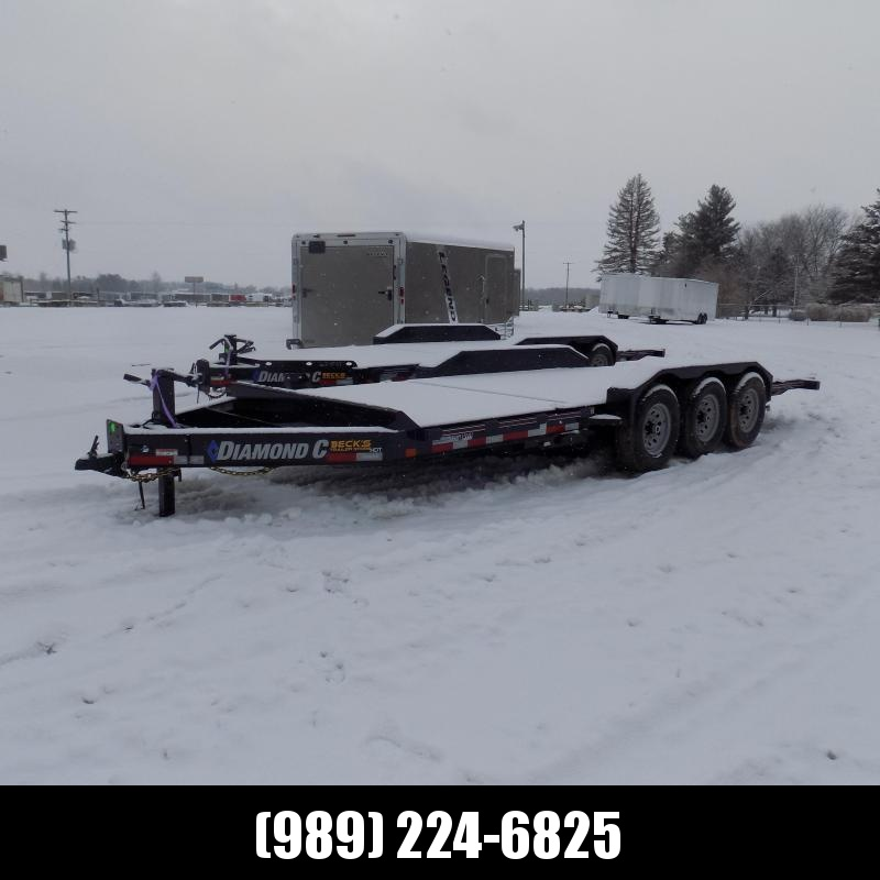 """New Diamond C HDT 82"""" x 22' Tilt Deck Equipment Trailer - 24K Weight Rating - $0 Down & Payments From $149/mo. W.A.C."""