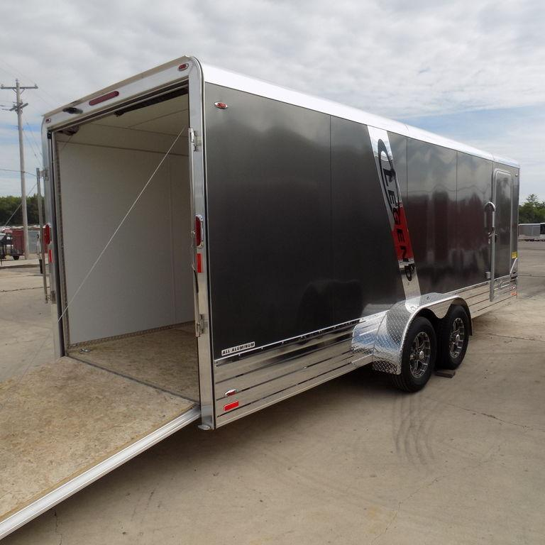 New Legend Deluxe V-Nose 7' x 23' Aluminum Enclosed Cargo Trailer With Finished Interior