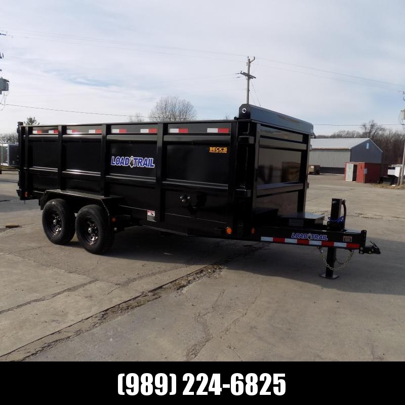 """New Load Trail 83"""" x 16' Dump Trailer With 48"""" Sides - $0 Down & Payments from $141/mo. W.A.C."""
