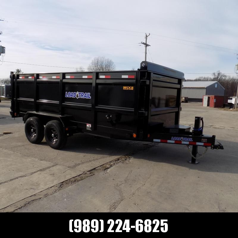 "New Load Trail 83"" x 16' Dump Trailer With 48"" Sides - $0 Down & Payments from $141/mo. W.A.C."