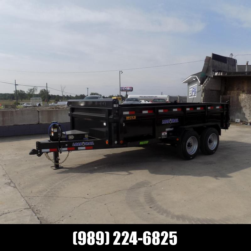 New Load Trail 7' x 14' Dump Trailer With 8K Axle Upgrade - $0 Down Financing Available