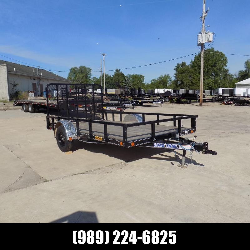 "New Load Trail 83"" x 12' Open Utility Trailer for Sale - $0 Down & Payments $59/mo. W.A.C"