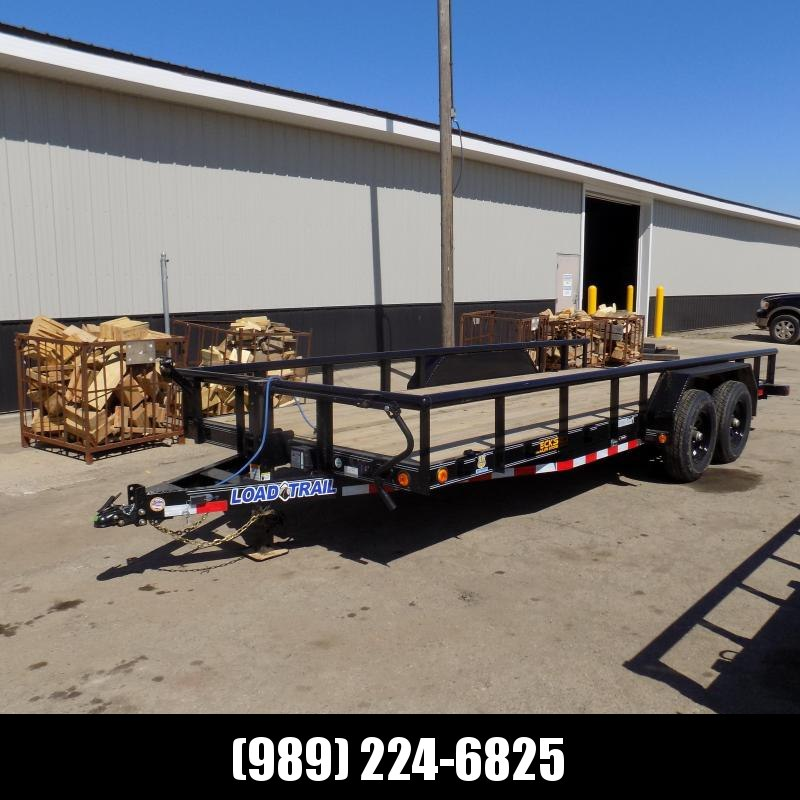 """New Load Trailer 83"""" x 18' Car/Equipment Trailer - $0 Down & Payments from $113/mo. W.A.C."""