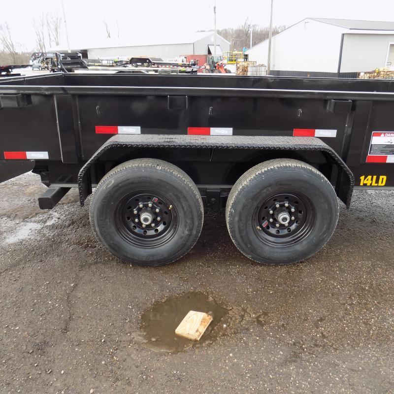 New Big Tex 7' x 14' Dump Trailer for Sale - Flexible $0 Down Financing Options Available