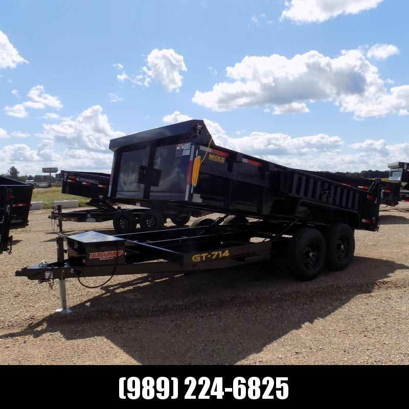 New DuraDump 7' x 14' Dump Trailer For Sale - Payment From $141/mo. With $0 Down W.A.C.