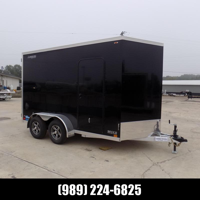 New Legend Thunder 7' x 14' Aluminum Enclosed Cargo Trailer for Sale- $0 Down Payments From $121/Mo W.A.C.