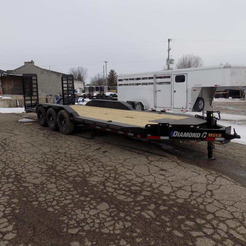 "New Diamond C Trailers 102"" x 22' Heavy Duty Equipment Trailer With Drive-Over Fenders - Over 20K Payload Capacity - $0 Down & Payments from $139/mo. W.A.C."