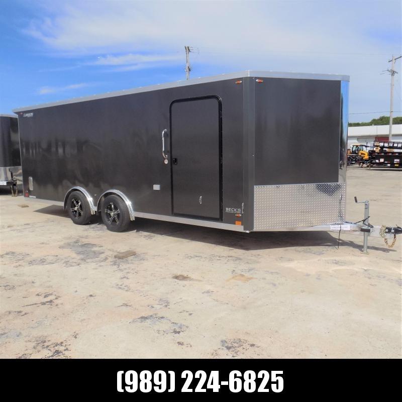 New Legend FTV 8' x 23' Heavy Duty Aluminum Cargo Trailer - $0 Down Financing Available - LOADED!