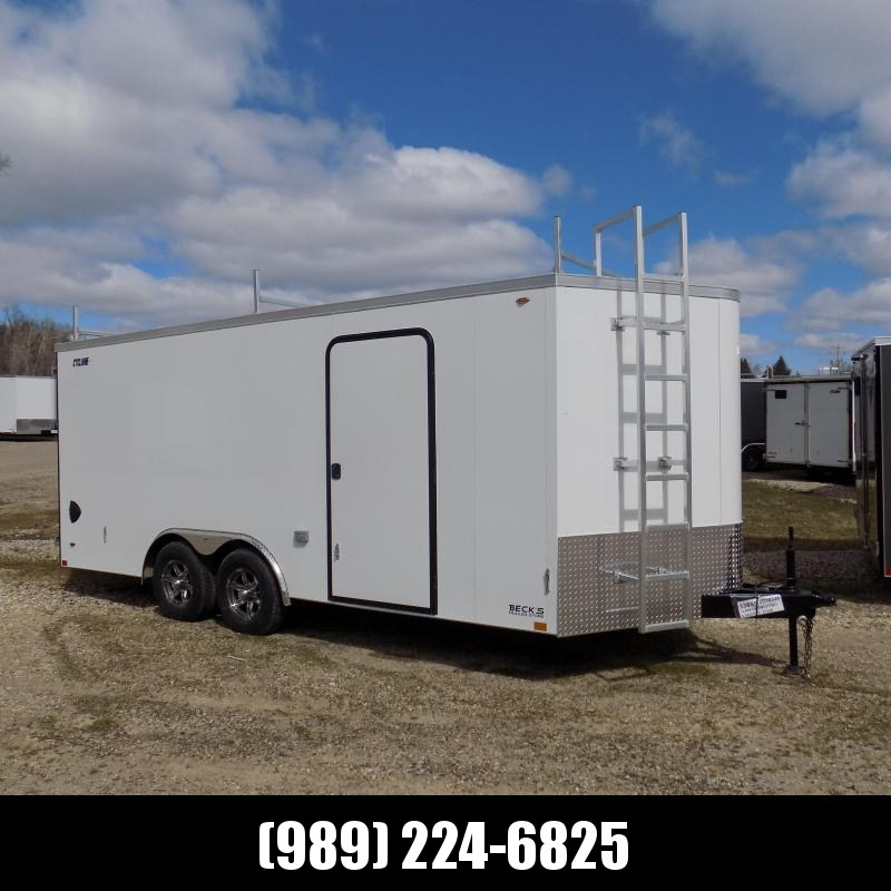 New Legend Trailers Legend Cyclone 8.5' x 20' Enclosed Car Hauler / Cargo Trailer for Sale - $0 Down Payments From $123/mo W.A.C.