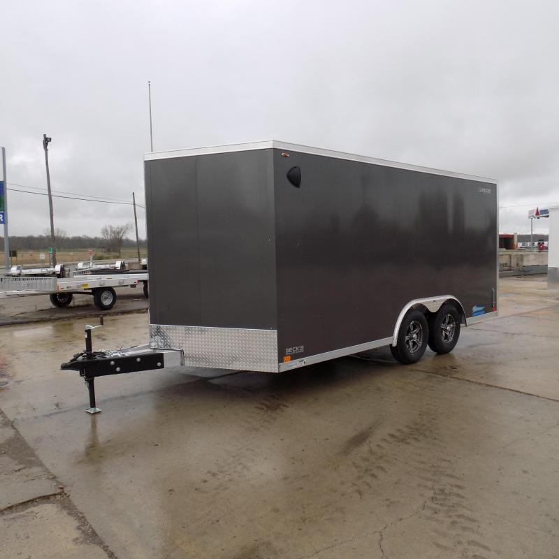 New Legend Thunder 8' X 18' All Aluminum Enclosed Cargo Trailer