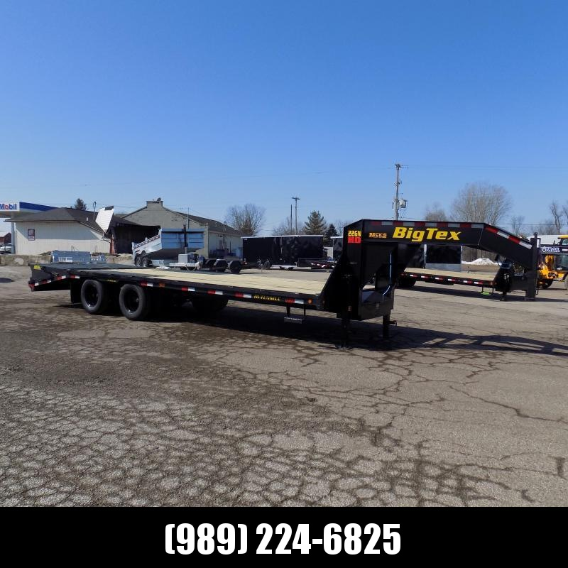 """New Big Tex 102"""" x 20' + 5' Gooseneck Trailer w/ 23900# Weight Rating - $0 Down Financing Available"""