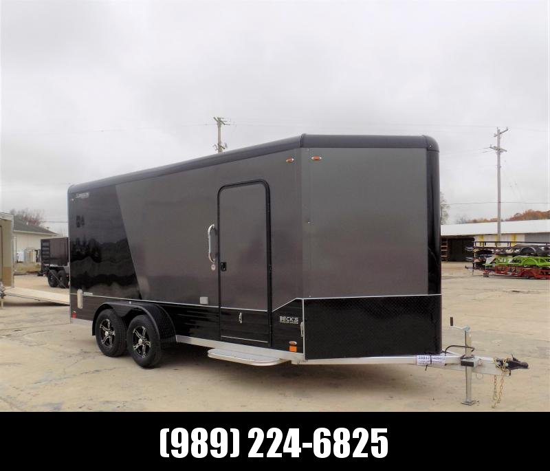New Legend Deluxe V Nose 7' X 19' All Aluminum Cargo Trailer - $0 Down & Payments from $129/mo. W.A.C.